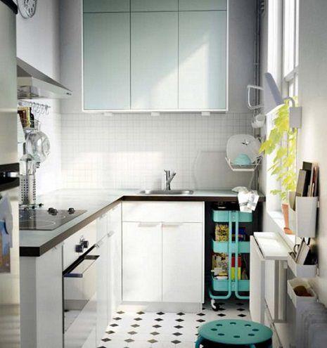 Fotos Cocinas Pequenas Ikea Como Decorar Casas Pequenas Cocinas