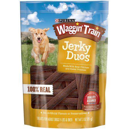 Purina Waggin Train Jerky Duos Dog Treats 3 Oz Pouch Purina