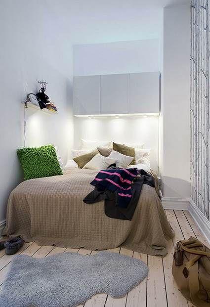 Decoraci n de dormitorios peque os dormitorios peque os - Decoracion de dormitorios pequenos ...