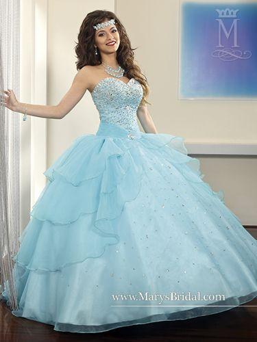 14cfe53d8 Mary s style ID 4436. Mary s style ID 4436 Vestidos De 15 ...