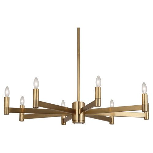 Delany Collection Round Chandelier design by Robert Abbey