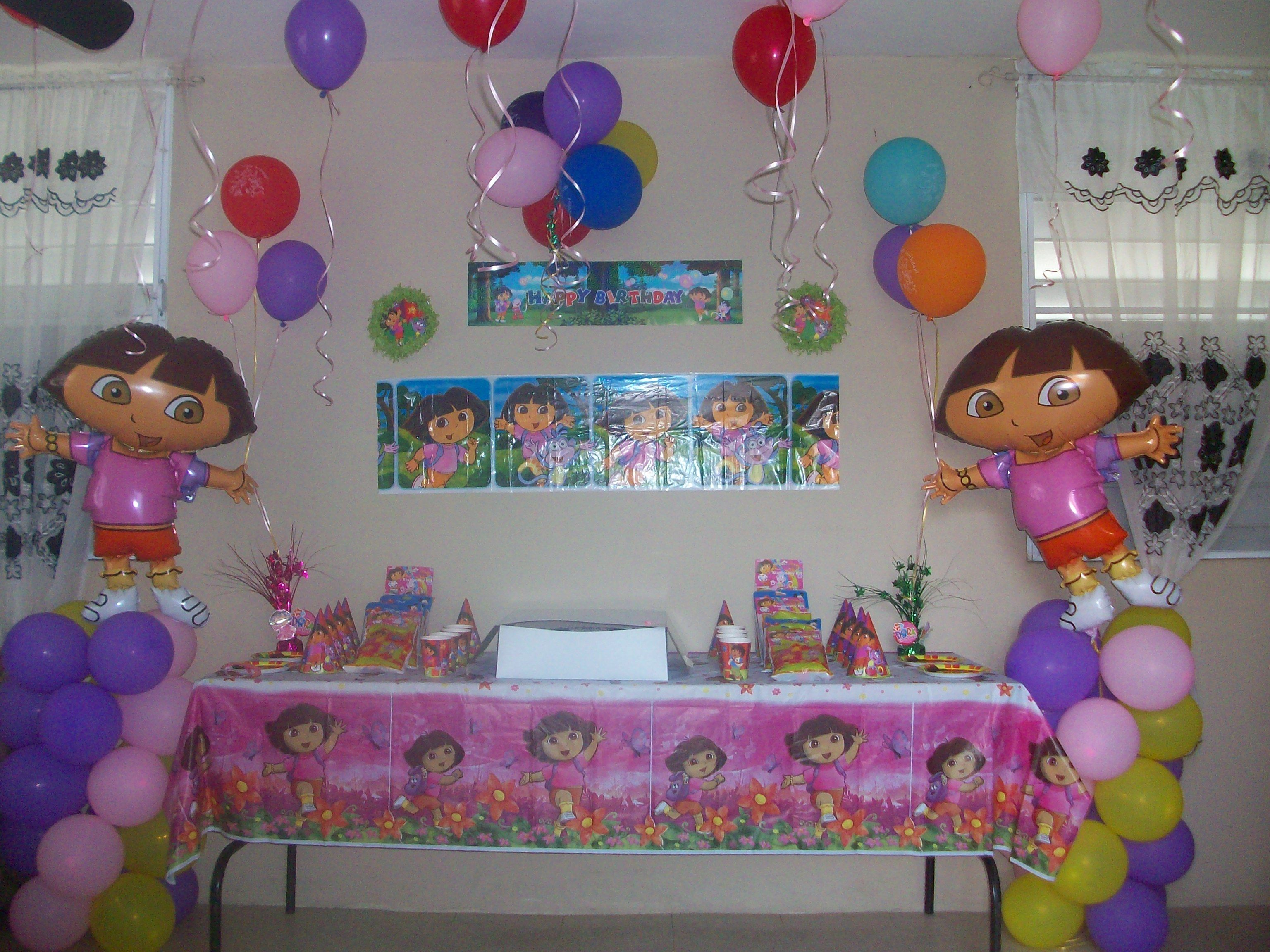 My Daughter S 3 Year Old Birthday Party 3 Year Old Birthday Party Birthday Party At Home Kids Birthday Party