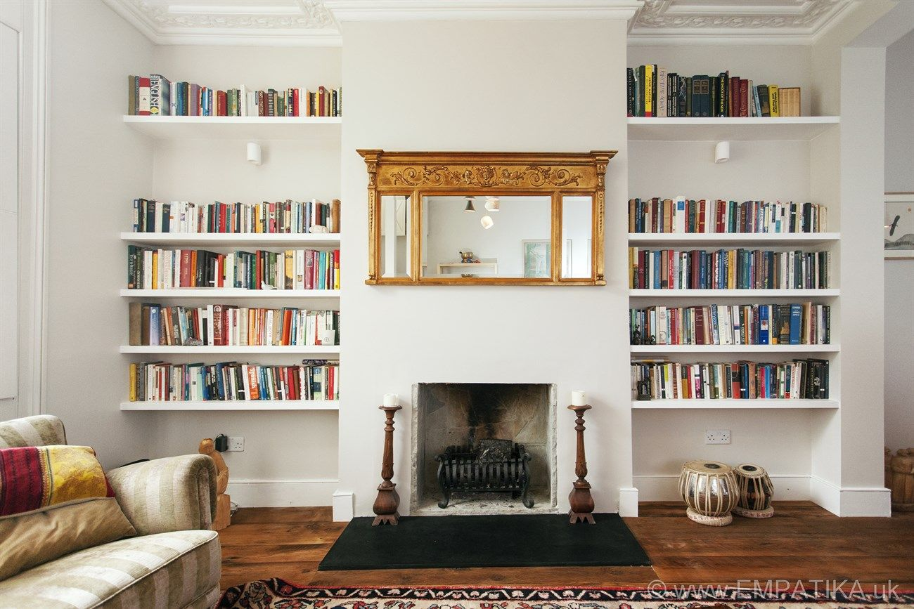 Bespoke Shelving In Each Side Of A Living Room Islington Http Www