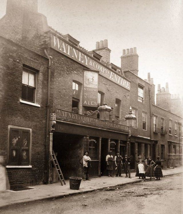 White Hart, Stepney - another lost pub