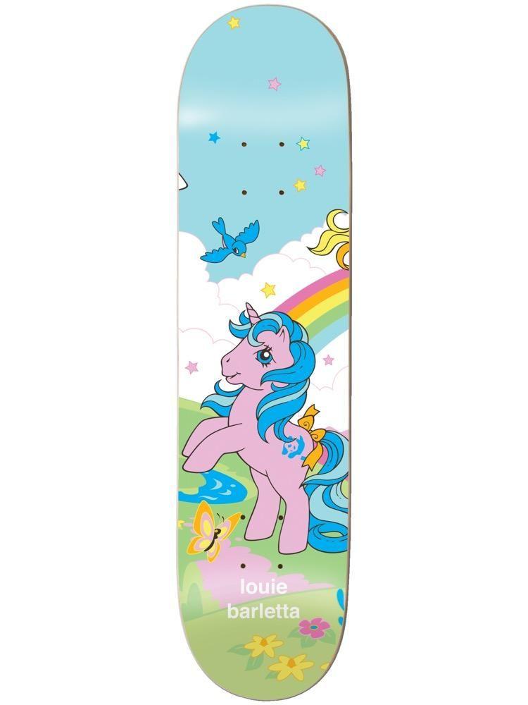 enjoi Barletta My Little Pony Cool World 8.0 R7 Skateboard Deck ... 805b6ed8625
