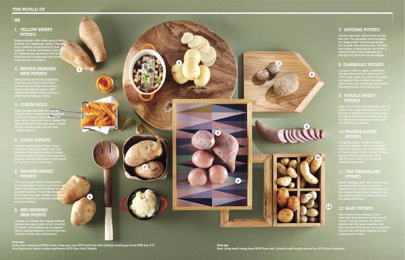Mmmm... Potatoes!  Reminds me of our holiday to Peru when we tried about 30 different types. Crave-Magazine-Nov-2012.jpg (800×514)