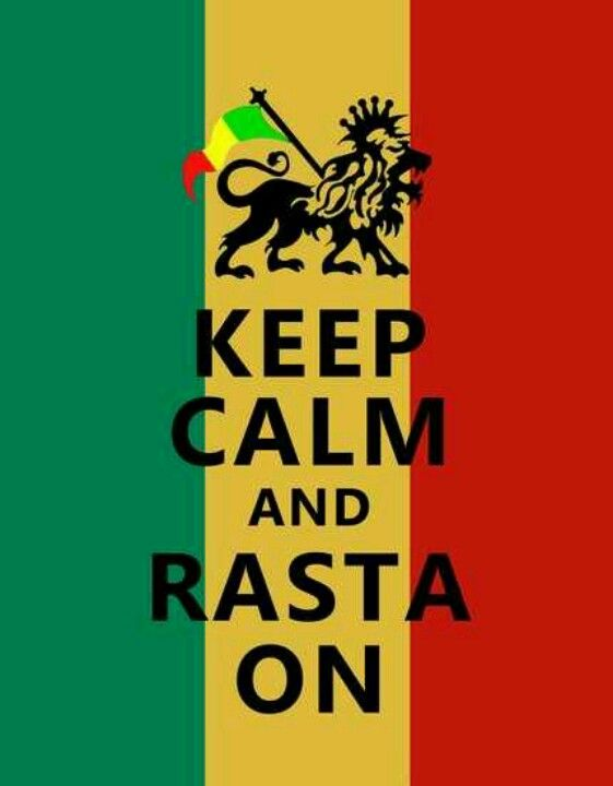 A Real Rasta Is Always Calm Peace And Loveu003c3