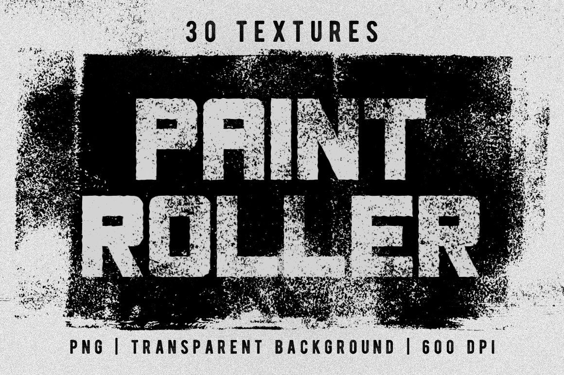 Set Of 30 Paint Roller Textures In 2020 Paint Roller Textured Background Textured Paint Rollers