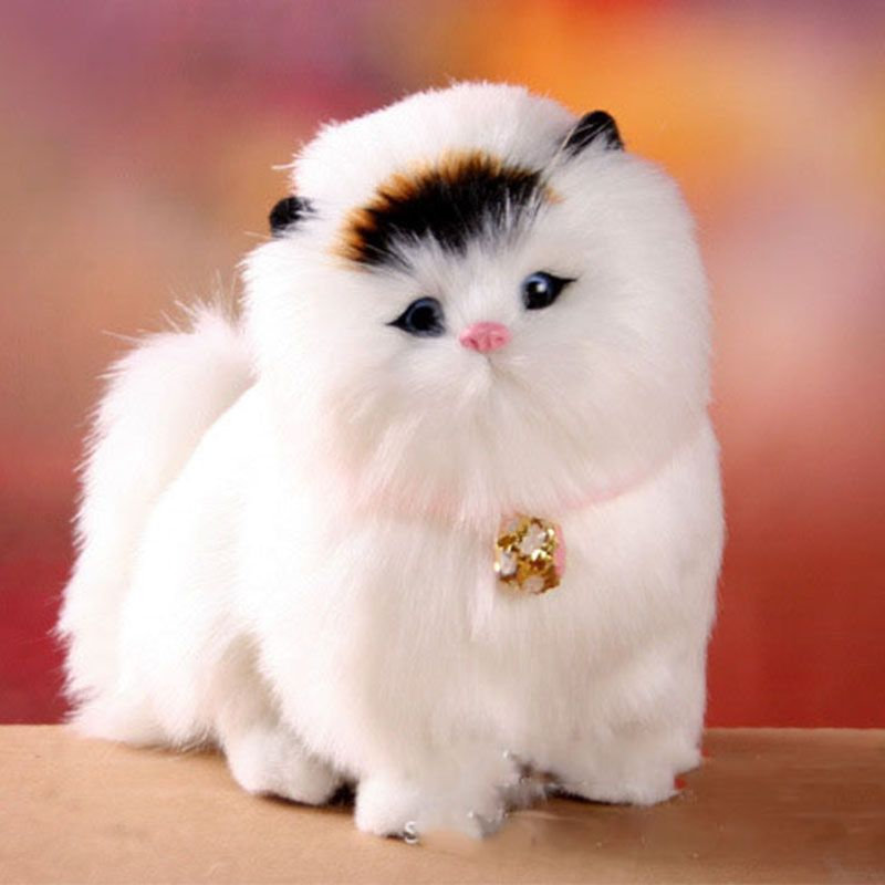 Schöne Elektronische Katzen niedlichen tier spielzeug katze wird ...