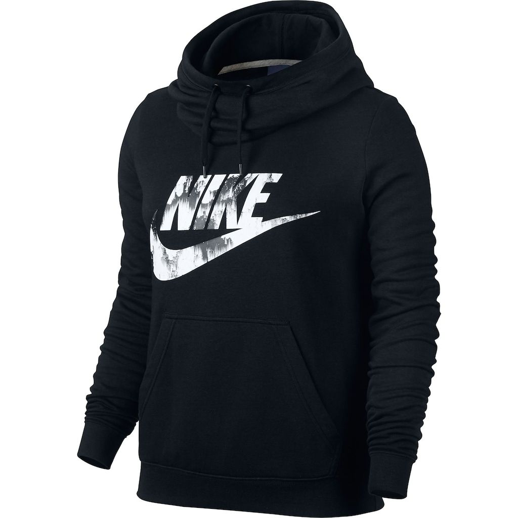 Funnel neck hoodie, Nike women outfits