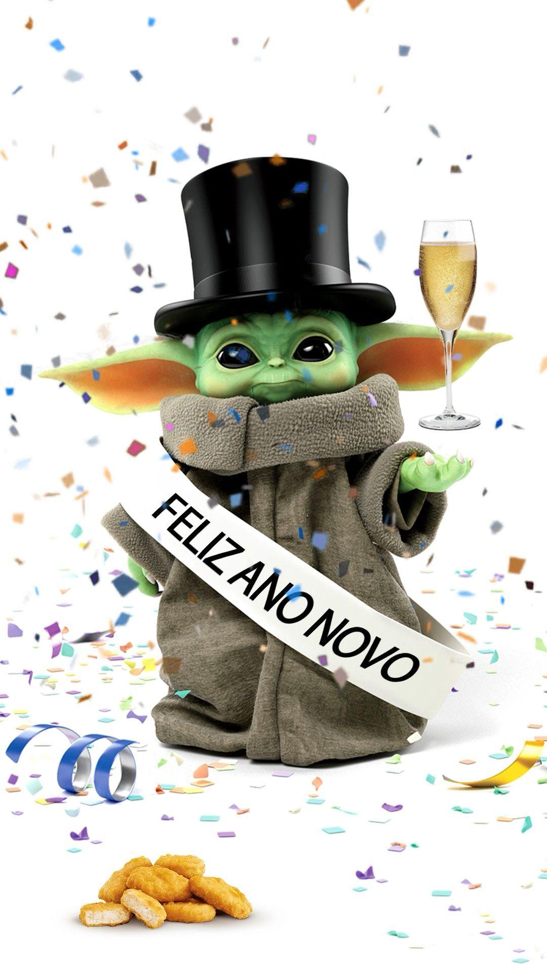Happy Year Wish you Happy New Year, I do 🥳 babyyoda