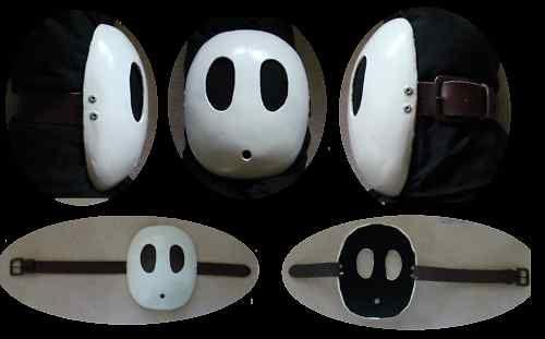 Custom Mario Bros Shy Guy Mask Rare Video Games Auctions Sales Pricing Shy Guy Mario Costume Guys