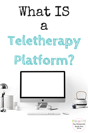 What Is A Teletherapy Platform  Speech Pathologist Speech