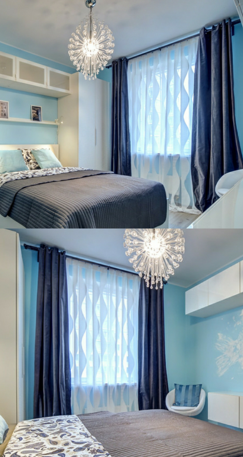 40+ Bedroom Curtain Ideas (For Master, Small, and Children ... on Master Bedroom Curtain Ideas  id=68008