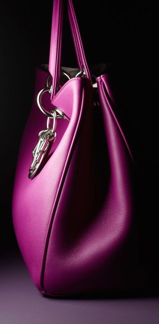 Magenta Handbag By Dior