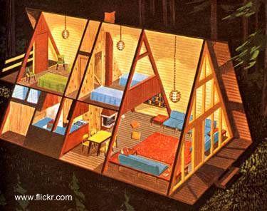 planos de casas alpinas