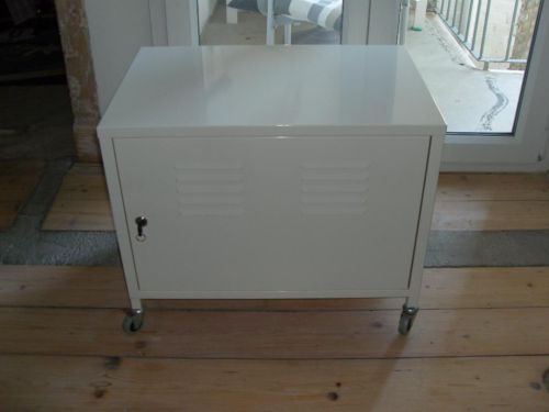 Rollcontainer metall ikea  PS Rollcontainer TV Hifi Schrank Ikea weiß | Möbel | Pinterest ...