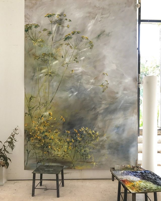 Photo of OIL ON PAPER – Claire BASLER