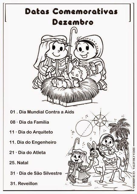 Calendario Com Datas Comemorativas Janeiro A Dezembro Turma Da Monica Calendario De Datas Comemorativas Datas Comemorativas Educacao Infantil Datas Comemorativas