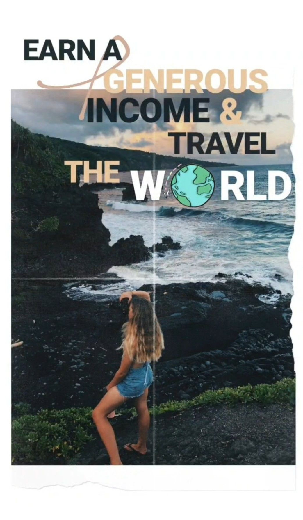How To Travel The World And Make A Generous Income Online Freedom Travel Travel Travel Lifestyle