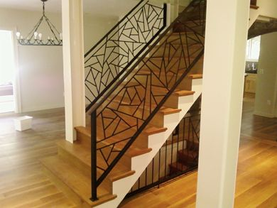 Best Staircase Railing Ideas Forge Hill Designs Latest Work Квартира Лестница Галереи 400 x 300