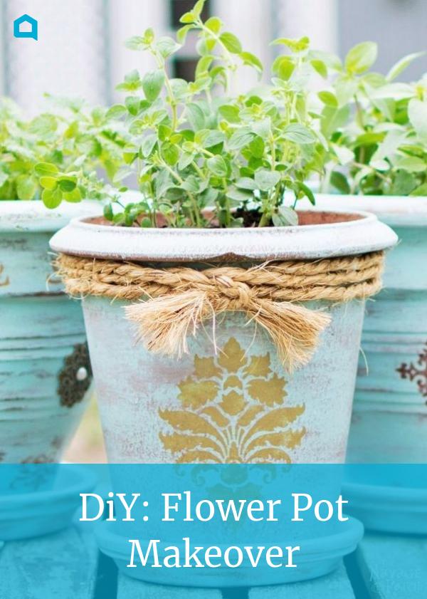 Diy Flower Pot Makeover Flower Pots Plastic Flower Pots Diy Flower Pots
