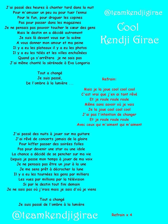Kendji Girac Cool Learn French Songs Learning