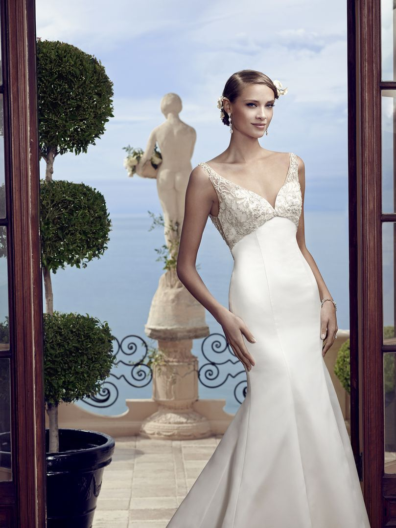 Style 2193 Casablanca Bridal Wedding dresses, Illusion