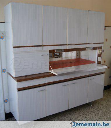 ensemble de meubles de cuisine annees 70 enfance pinterest. Black Bedroom Furniture Sets. Home Design Ideas