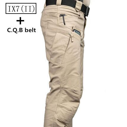 Men Outdoor Military Urban Tactical Combat Trousers Casual Cargo Hiking Pants