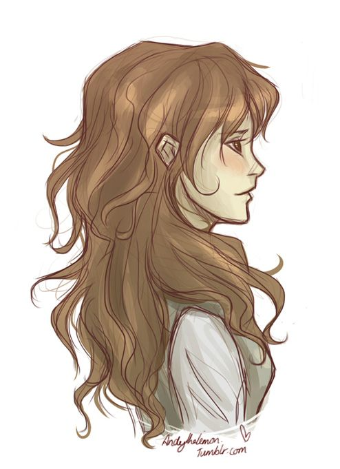 Pin by Lydia Low on Hair Reference | Art, Percy jackson, Harry Potter