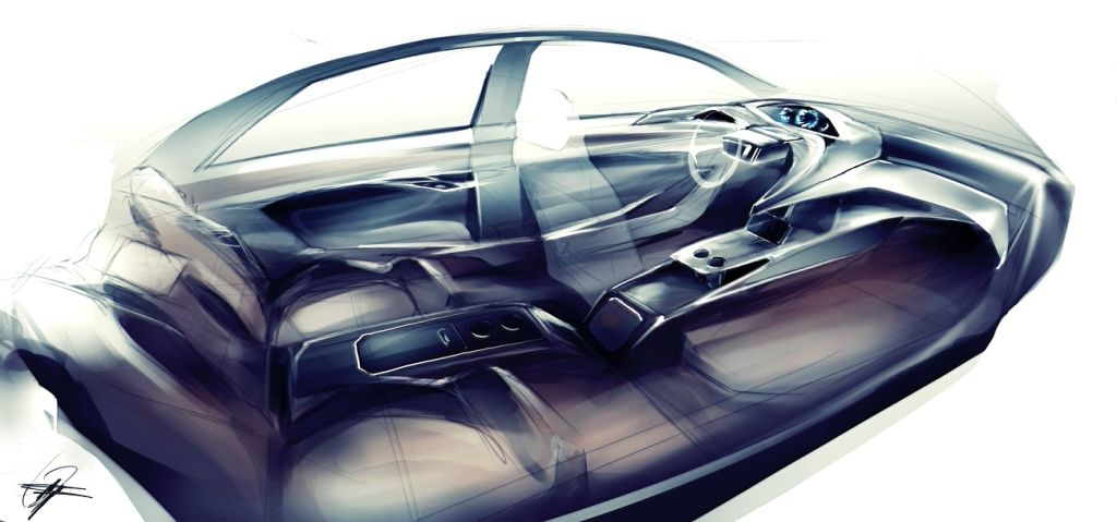Interior Car Design Sketch Www Pixshark Com Images