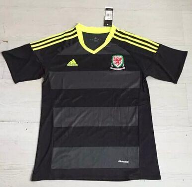 Camiseta Eurocopa 2016 Gales 2ª ( Tailandia )  http://www.camisetafutbolreplica.