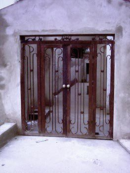 Bespoke Gate Made With 10mm Thick Flat Bar Mild Steel Recycled Materials Home Decor Repurposed