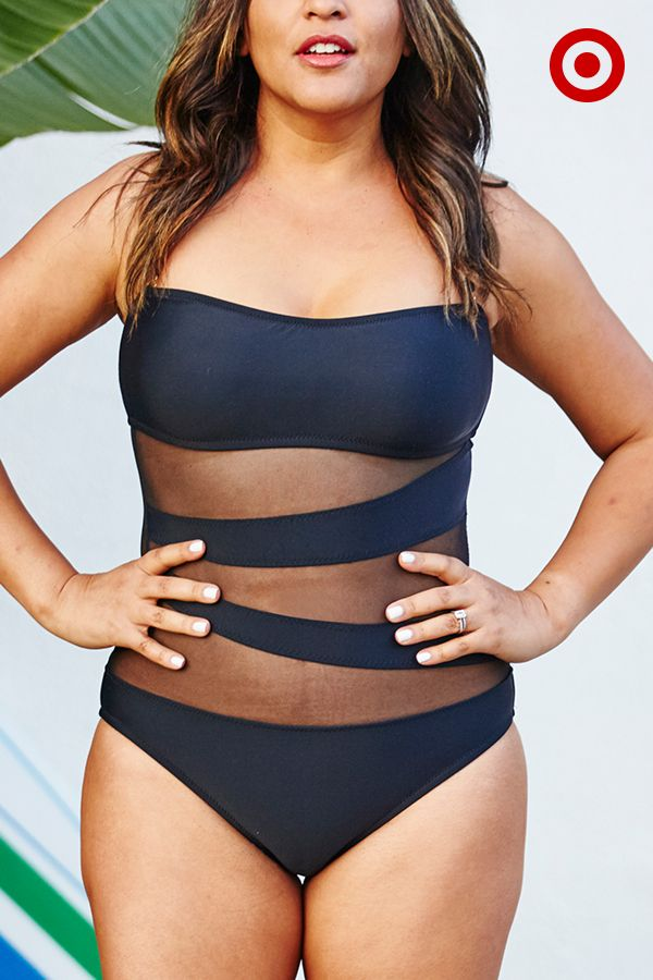 The one-piece swimsuit like you've never seen it before. It has the same function to smooth out the body as a one-piece, but has more interesting details and a sexier look than most two-pieces.