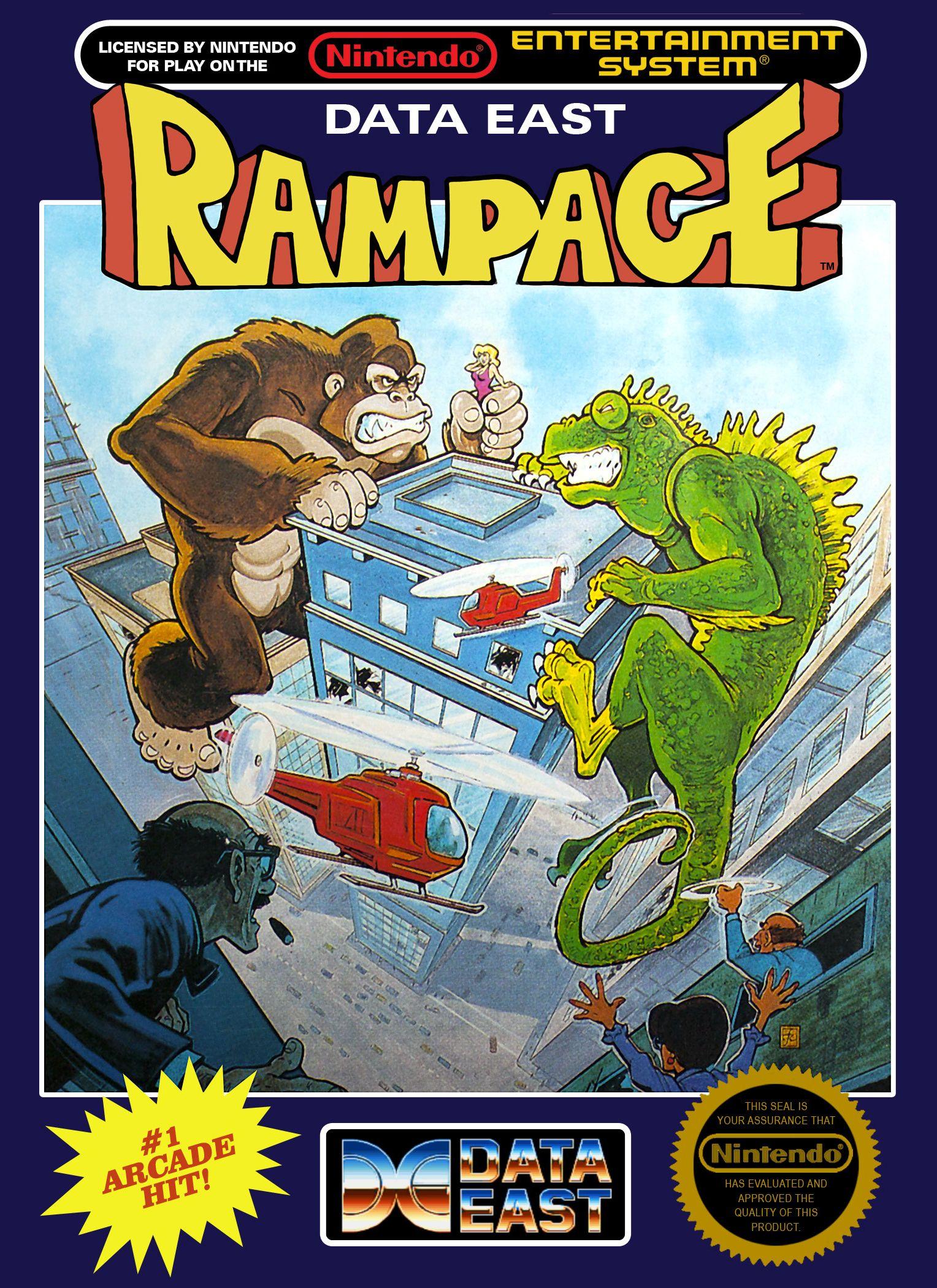 2362153nes_rampage.jpg (1528×2100) Nes games, Classic