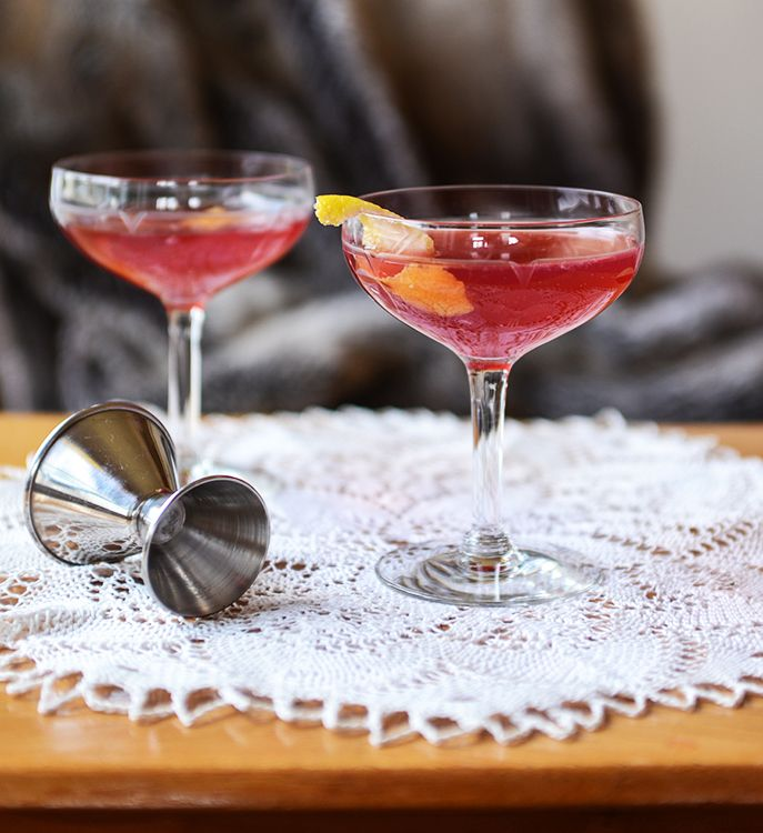 Aquavit Meets Pomegranate And Ginger For A Festive Holiday