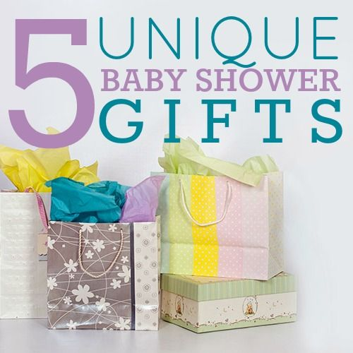 5 Unique Baby Shower Gifts   Daily Mom