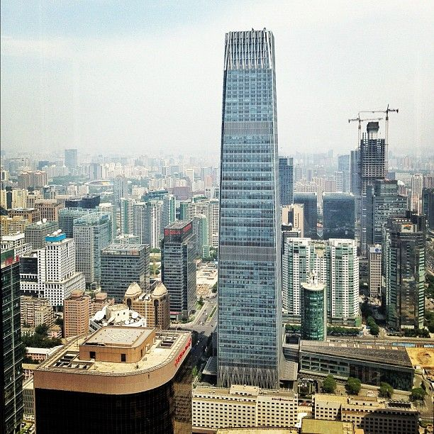 China World Trade Center Tower III, Beijing 's tallest tower by SOM.