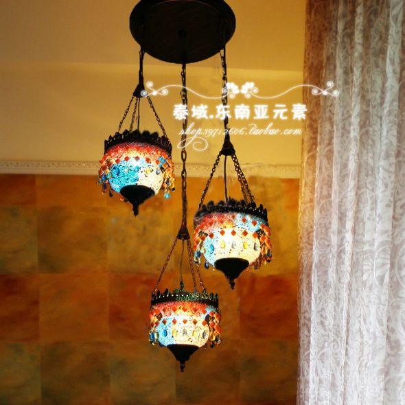 Bohemian Light Fixture