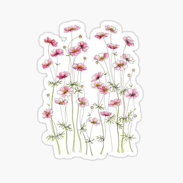 Pegatinas: Pink   Aesthetic stickers, Print stickers ...