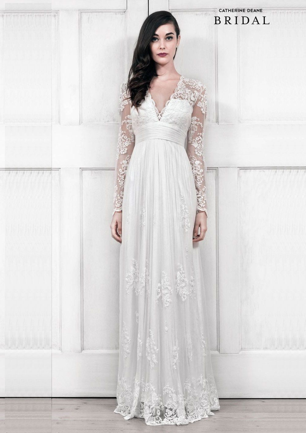 30 Exquisite & Elegant Long Sleeved Wedding Dresses | Pinterest ...