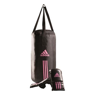 sac adidas noir et rose