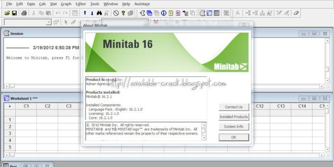 minitab 17 free download for windows 7 64 bit