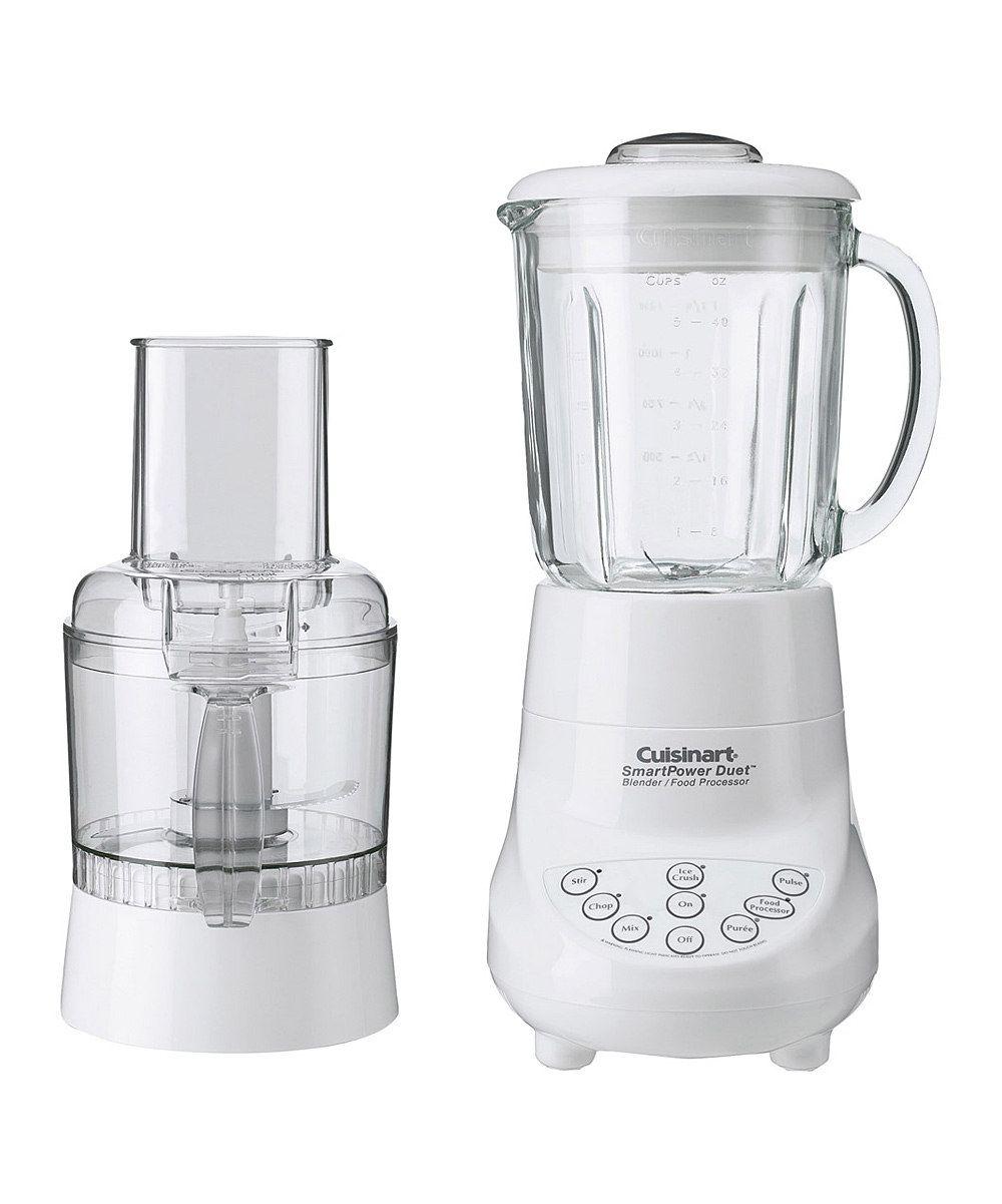 Cuisinart White Smartpower Duet Blender Food Processor Zulily Food Processor Recipes Blender Food Processor Blender