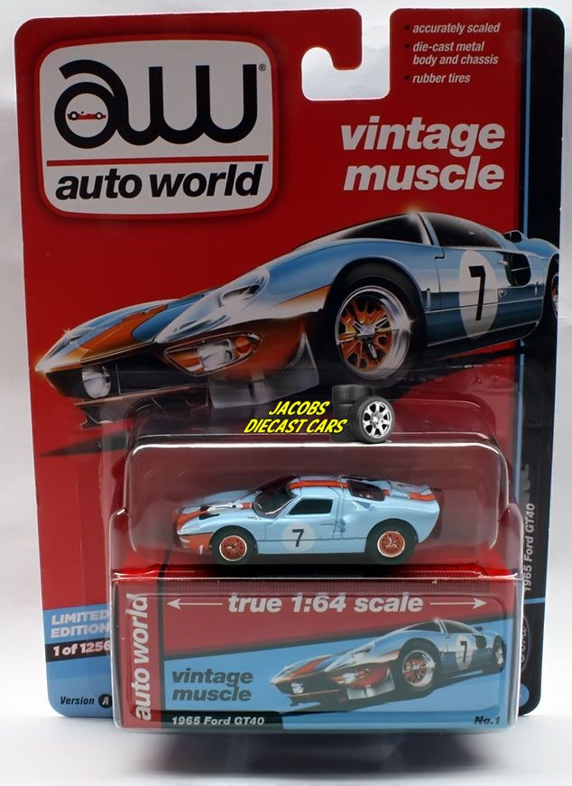 1 64 Auto World Premium 2017 Release 2a 1965 Ford Gt40 Perfect