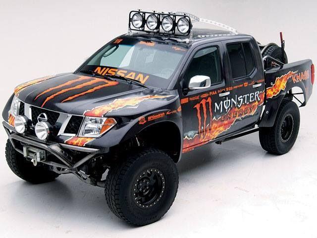 Monster Energy Nissan prerunner