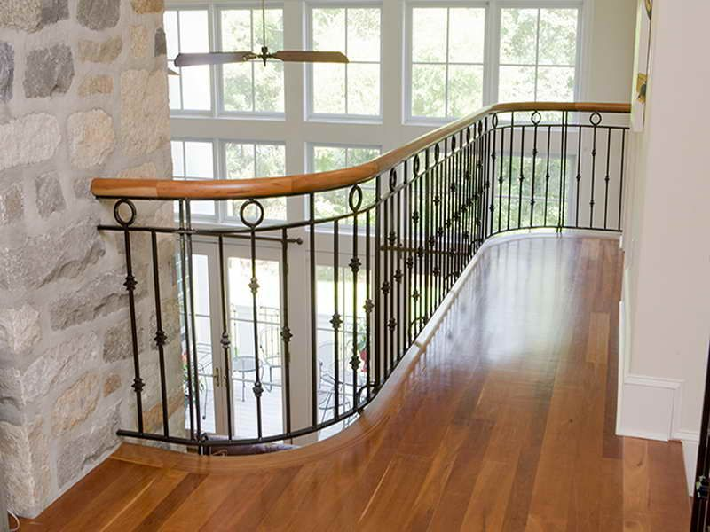 Wrought Iron Stair Railings | Digital Photography Above, Is Segment Of  Luxurious Iron Stair Railings