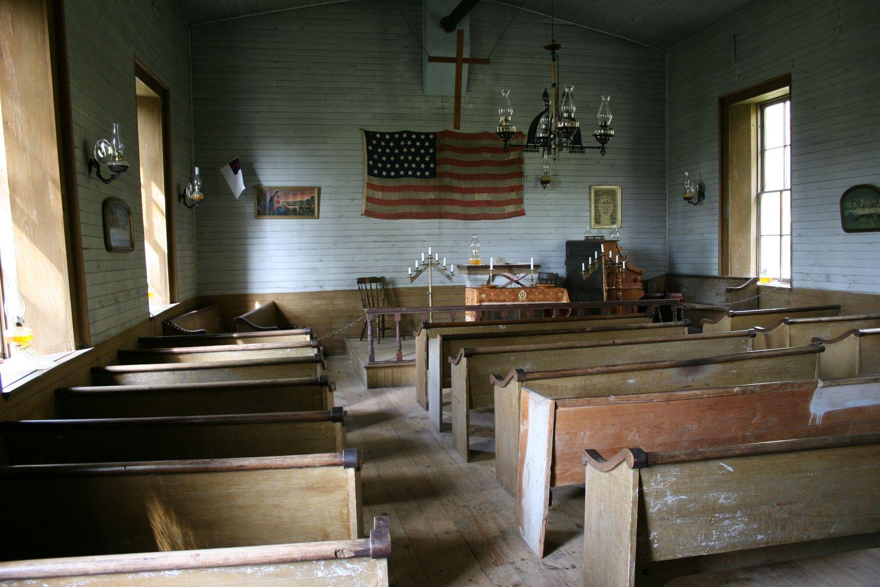 Rustic Church Interior