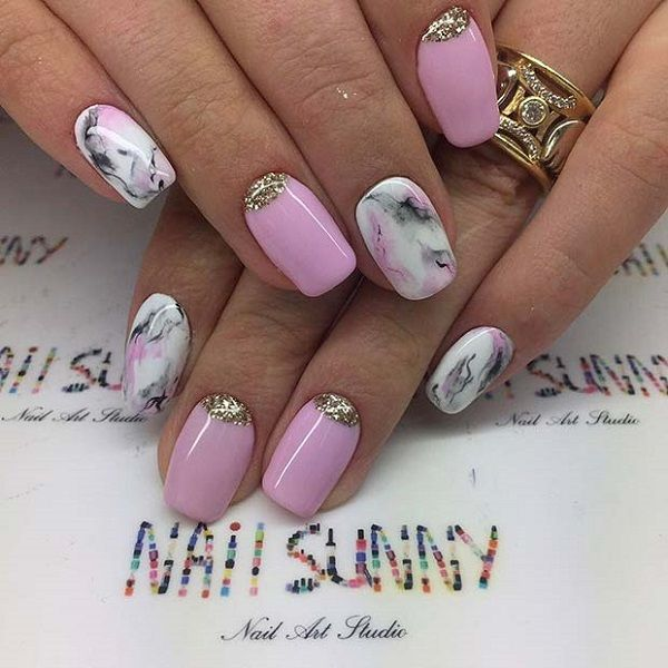 55 Summer Holiday Nail Art Ideas Elegant Nail Art
